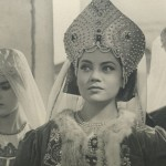 "My sister Marina (center) in her first film role: Dunyasha in Rimsky-Korsakov's ""The Tsar's Bride,"" 1963"