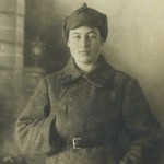 My mother during the Soviet-Finnish War, 1939