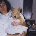 With my dog Dmitri, New Jersey, 1998