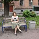 In my courtyard, St. Petersburg, 2010